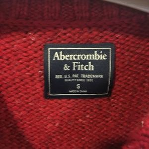 Abercrombie & Fitch Sweaters - NWT Abercrombie & Fitch red and white knit sweater